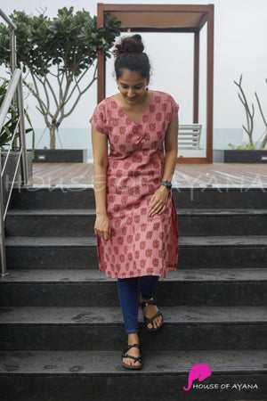 New York Silk Kurti