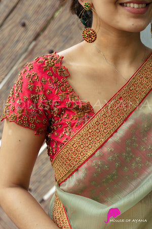 Jhansi Rani Embroidered Blouse