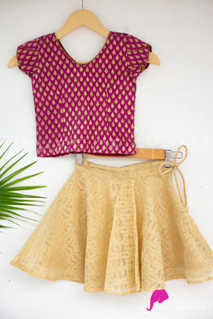 Mulberry Skirt Set