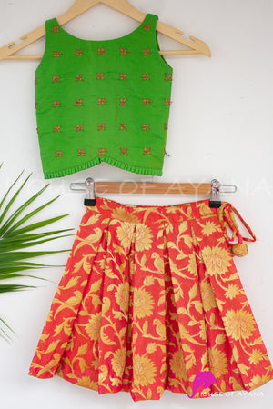 Dora Frilled Set