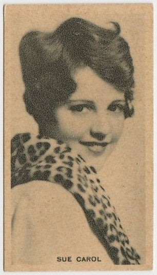 Sue Carol vintage 1929-33 Godfrey Phillips Cinema Stars Trading Card #2