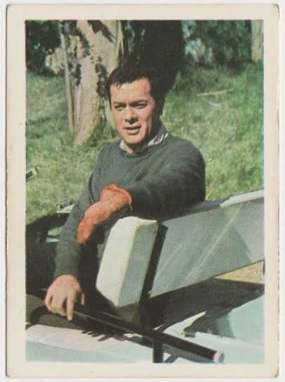 Tony Curtis 1964 Cumbre Film and Recording Stars Trading Card #20