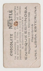 George Bancroft 1920s Chocolate Nestle Film Stars Trading Card from Argentina #44