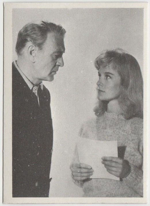 Gary Cooper + Virginia McKenna 1959 MGM Film Stars Trading Card from Italy #8