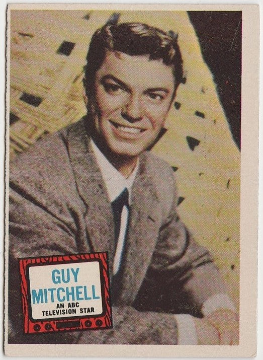 Guy Mitchell 1957 Topps Hit Stars Trading Card #82