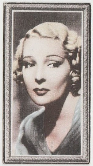 Helen Vinson 1936 Godfrey Phillips Stars of the Screen Trading Card #38
