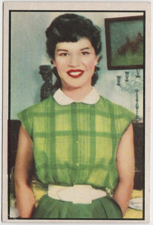 Arlene McQuade 1953 BOWMAN Television and Radio Stars of NBC Trading Card #68