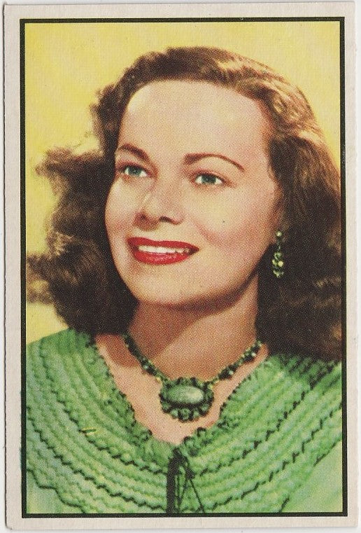 Claire Niesen 1953 BOWMAN Television and Radio Stars of NBC Trading Card #80
