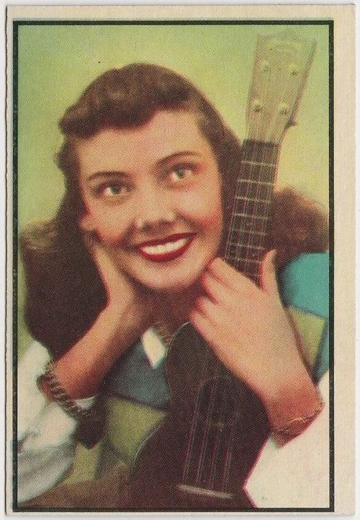 Rhoda Williams 1953 BOWMAN Television and Radio Stars of NBC Trading Card #82