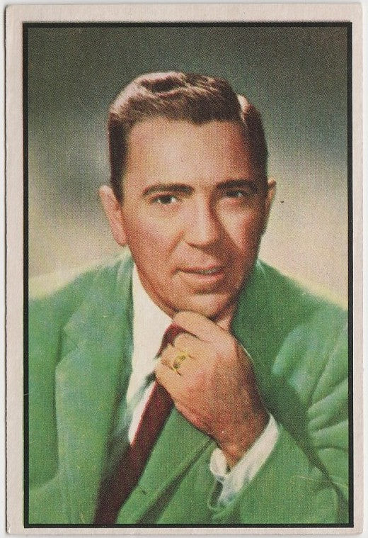 Tom D'Andrea 1953 BOWMAN Television and Radio Stars of NBC Trading Card #89