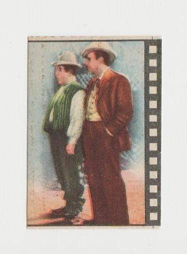 Abbott and Costello 1940s Paper Stock Trading Card - Film Frame Design AC#6 Italy