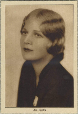 Ann Harding 1930s Motion Picture Magazine Paper Premium Photo