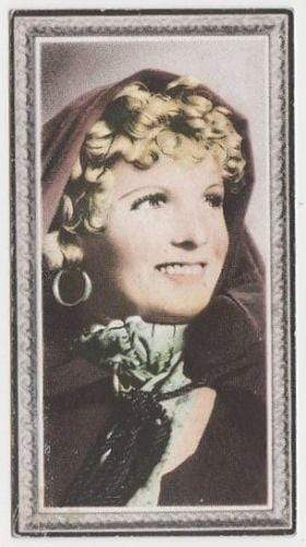 Anna Neagle 1936 Godfrey Phillips Stars of the Screen Tobacco Card #6