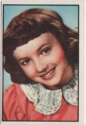 Anne Whitfield 1953 BOWMAN Television and Radio Stars of NBC Trading Card #34