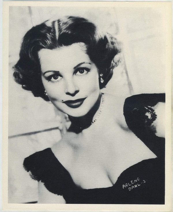 Arlene Dahl circa 1954 Star Pictures Paper Premium Photo 7.5 X 9.5