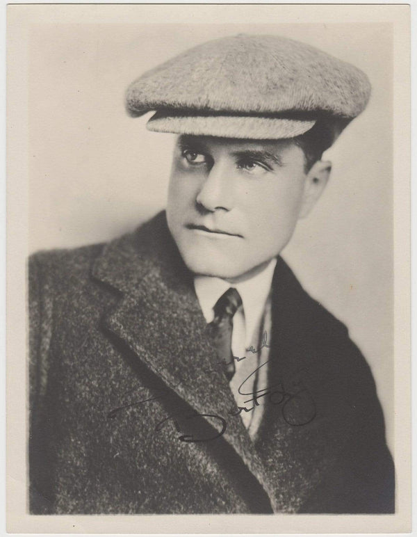 Bert Lytell Vintage 1920s 6.5 X 8.5 Movie Star Fan Photo