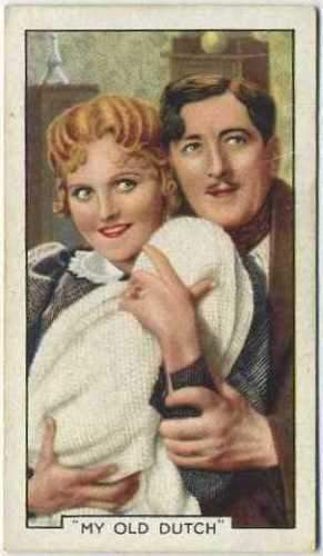 Betty Balfour + Michael Hogan 1935 Gallaher Movie Star Tobacco Card #12
