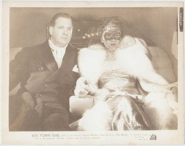 Claire Trevor + Alan Dinehart 1937 STILL PHOTO Big Town Girl 339-69