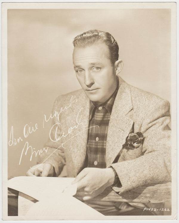Bing Crosby Vintage 1930s Large 8x10 Movie Star Fan Photo P1452-1262