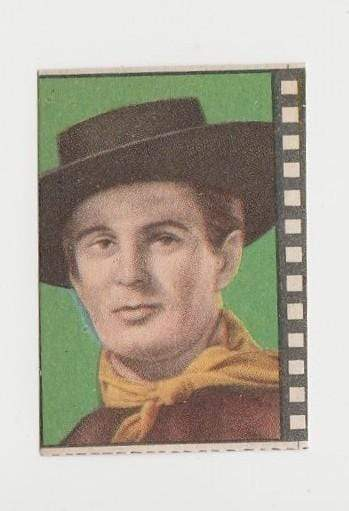 Bob Dalton 1940s Paper Stock Trading Card - Film Frame Design - Western Outlaw
