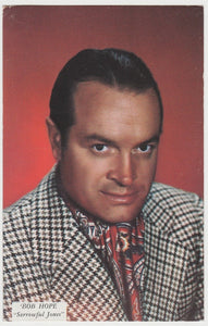 Bob Hope 1950s Paper Stock German Trading Card