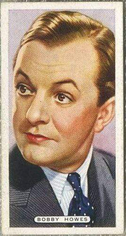 Bobby Howes 1935 Ardath Film Stage and Radio Stars Tobacco Card #28