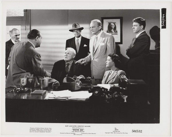 Burt Lancaster + Edmund Gwenn 1950 STILL PHOTO 790-32 Mister 880