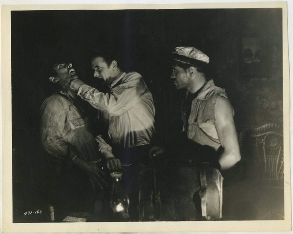 Charles Bickford punches John Miljan 1930 8x10 Still Photo THE SEA BAT 471-163