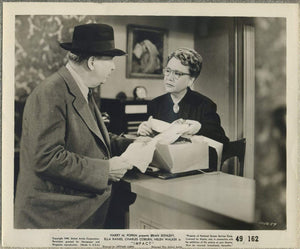 Charles Coburn + Ruth Robinson 1949 8x10 Still Photo IMPACT HMP2-57