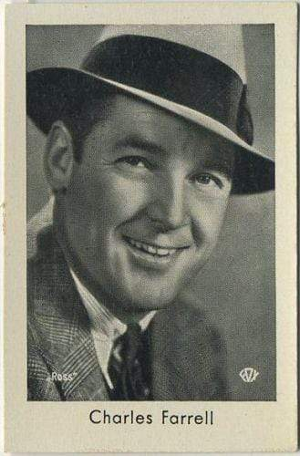 Charles Farrell 1930s Josetti Filmbilder Movie Star Tobacco Card #684