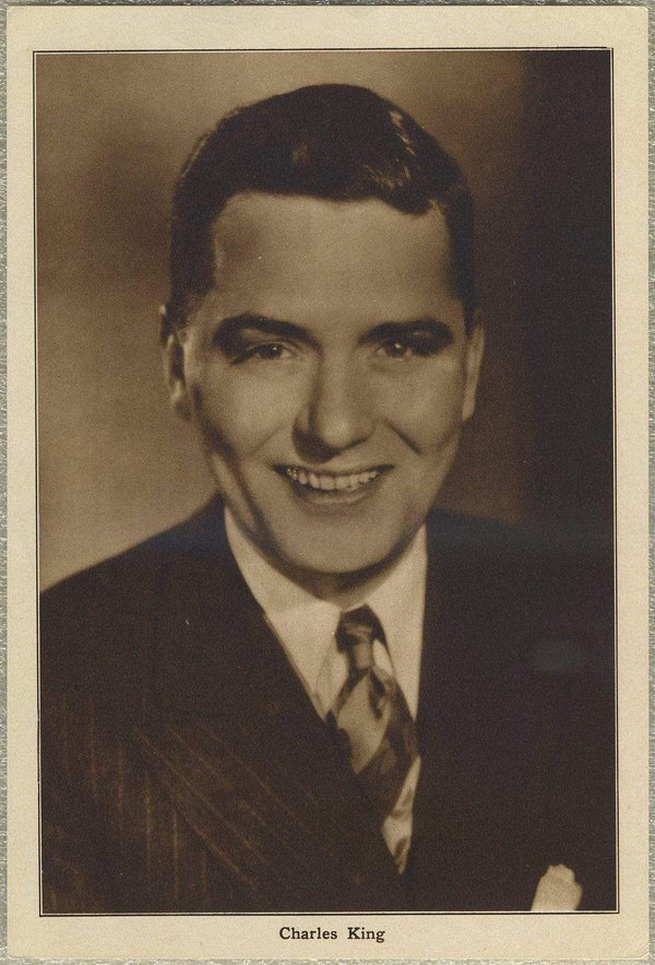 Charles King 1930s Motion Picture Magazine Paper Premium Photo