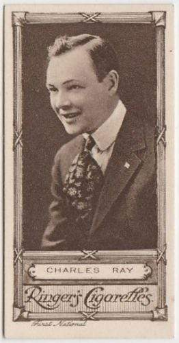Charles Ray 1923 Edwards Ringer and Bigg Cinema Stars Tobacco Card #23
