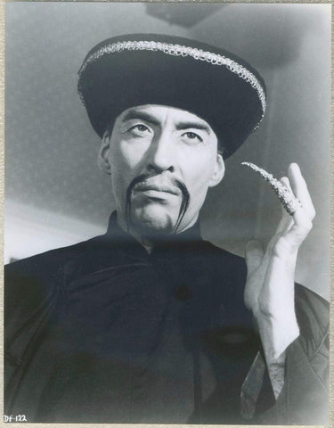 Christopher Lee as Fu Manchu on 1960s STILL PHOTO DF-122