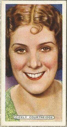 Cicely Courtneidge 1935 Ardath Film Stage and Radio Stars Tobacco Card #13
