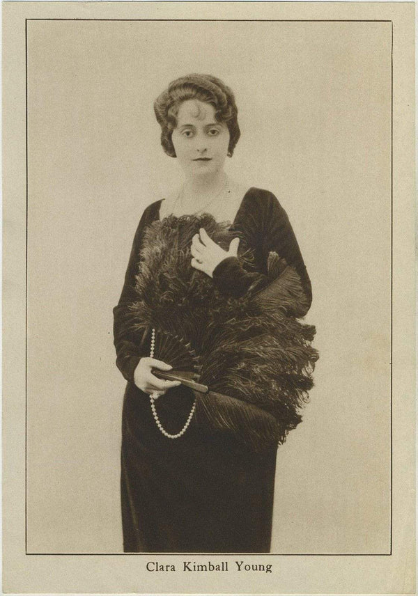 Clara Kimball Young 1920s Motion Picture Magazine Paper Premium Photo 5.5 X 8
