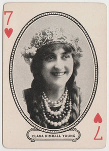 Clara Kimball Young 1910s Kromo Gravure Trading Card - Rounded Border Type