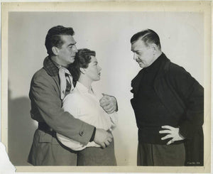 Clark Gable + Lana Turner + Victor Mature BETRAYED on Vintage 1954 Still Photo