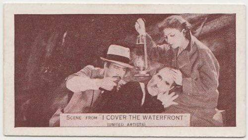 Claudette Colbert + Torrence 1935 Ardath SCENES FROM BIG FILMS Tobacco Card #90
