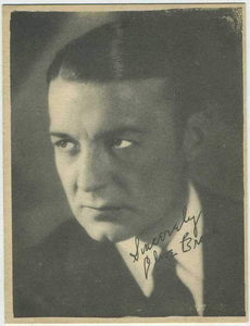 Clive Brook 1920s Kashin Motion Picture Stars Large Trading Card W618