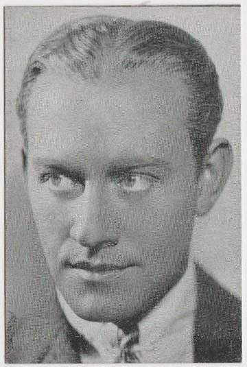 Conrad Nagel 1933 MOVIEBOOK CORP of New York Film Star Trading Card #17