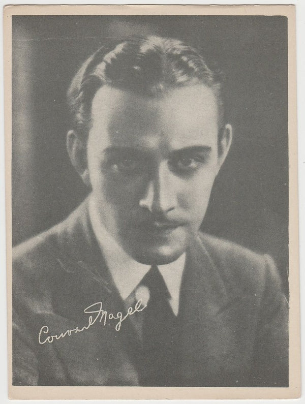 Conrad Nagel 1920s Kashin Motion Picture Stars Large Trading Card W618