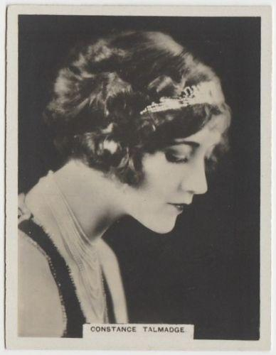 Constance Talmadge 1925 Rothmans Cinema Stars Tobacco Card #8