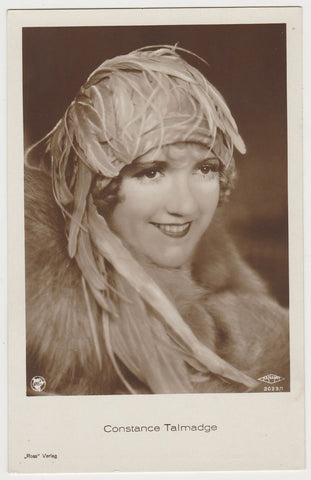 Constance Talmadge 1920s Universal Novelty Snapshots of Movie Stars Trading Card