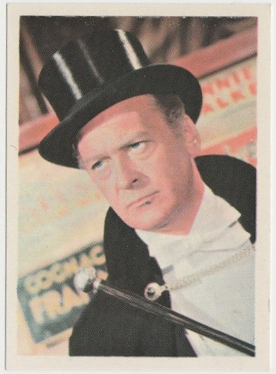 Curd CURT JURGENS 1964 Cumbre Film and Recording Stars Trading Card #37