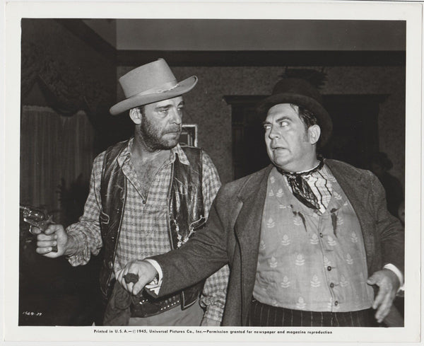 Lon Chaney Jr + Thomas Gomez 1945 STILL PHOTO The Daltons Ride Again 1468-29