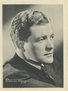 Dennis Morgan 1946 Motion Picture Magazine Paper Premium Photo 7.5 X 10