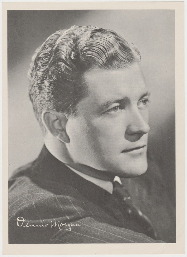 Dennis Morgan 1946 Motion Picture Magazine Paper Printed Photo 7.5 X 10