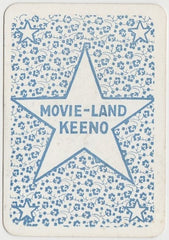 DOUGLAS MacLEAN Vintage 1929 Wilder MOVIE-LAND KEENO Game Card