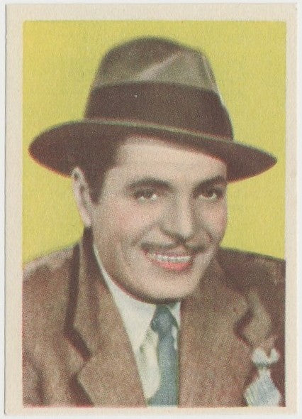 Warner Baxter 1930s Editorial Bruguera Cinefoto Paper Stock Trading Card #11
