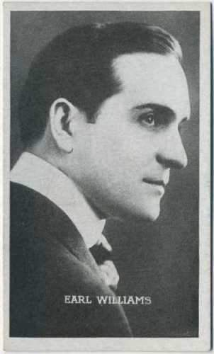 Earl Williams 1910s Kromo Gravure Trading Card - Silent Film Star